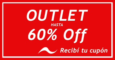 Outlet hasta 60% OFF